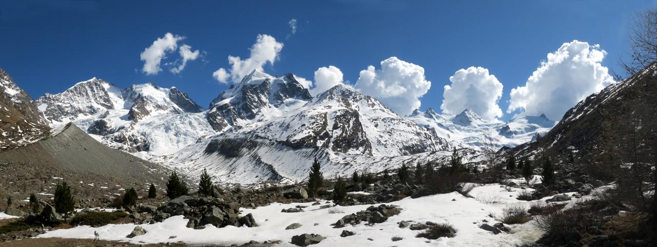 Piz Roseg (Schneekuppe), 3921 m